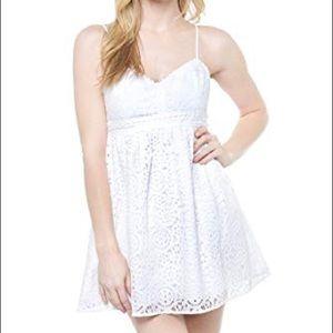 Lily Pulitzer | Joanna White Lace Sleeveless Dress